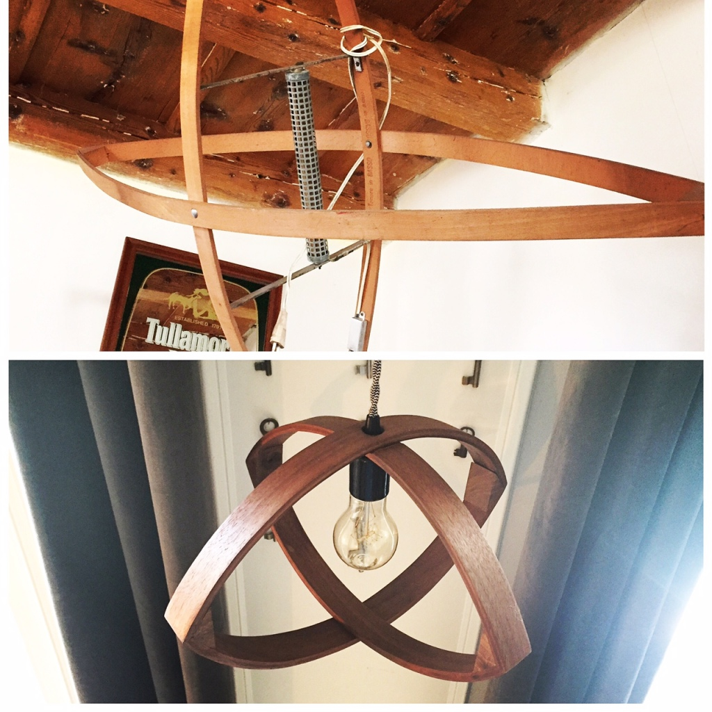 Inspired by an antique bug zapper spotted in Italy, one of Ben's latest lighting projects.